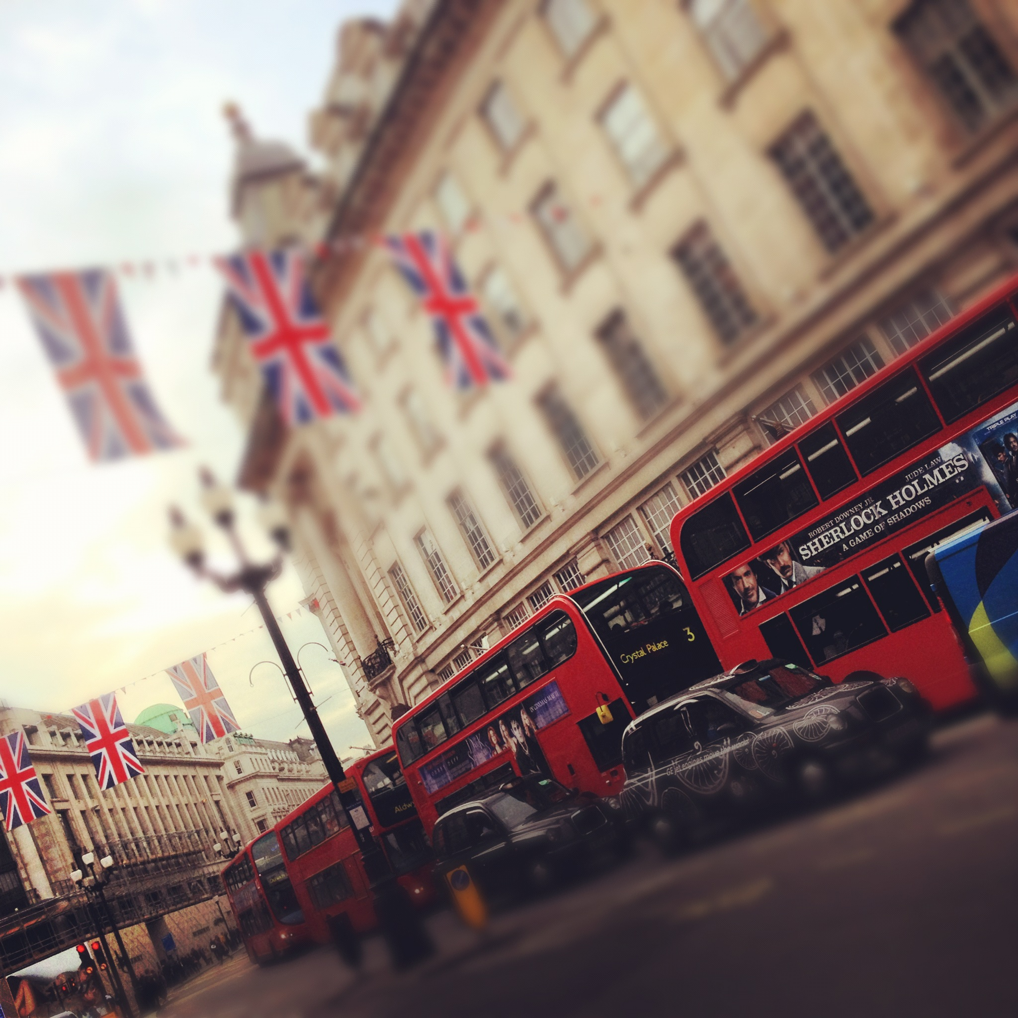 bus dans picadilly