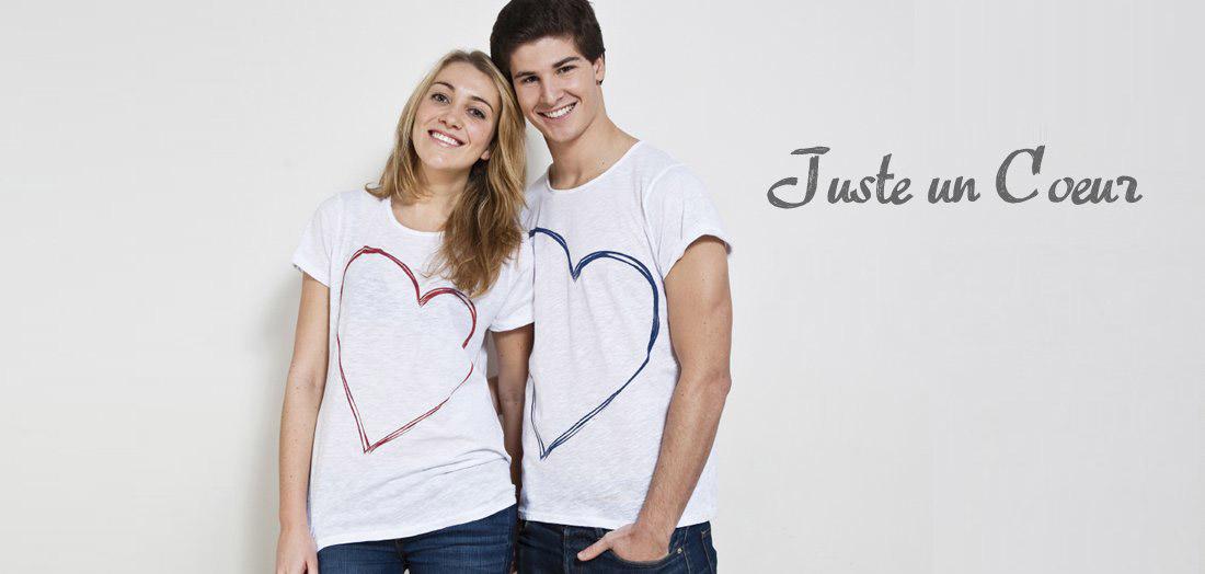 """Un T-shirt """"cœur"""" pour une asso"""