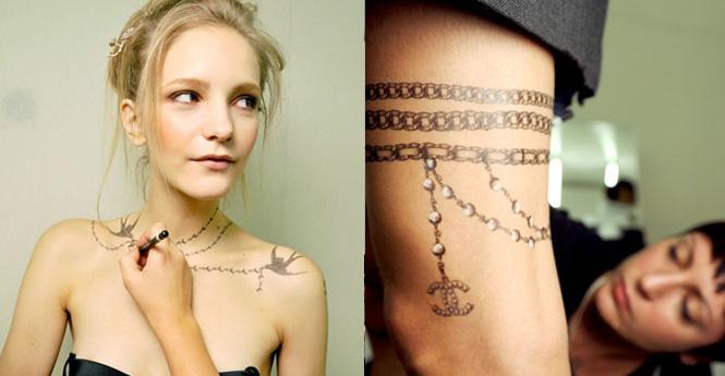 tatouage ephemere tinkit