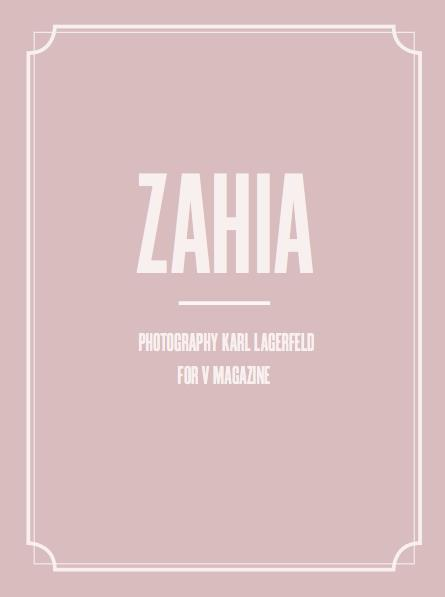 Zahia sexy charme