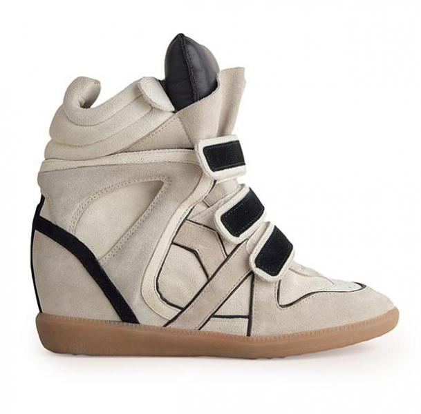 baskets compensees isabel marant sneakers
