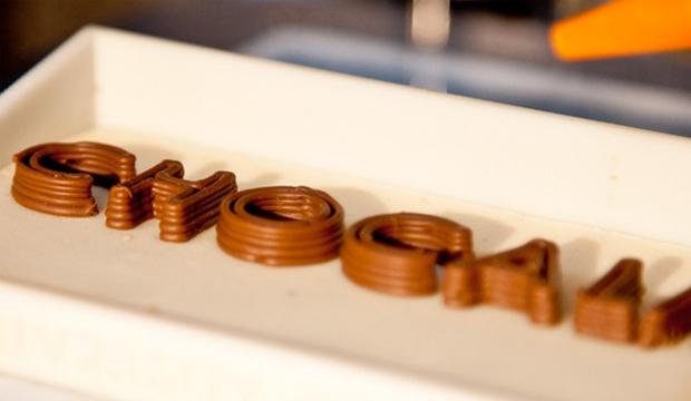 imprimé chocolat gourmand - nouvelles saveurs