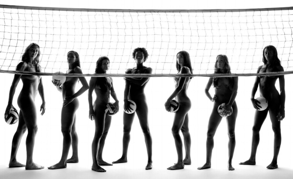 femmes equipe de volley nue