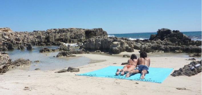 Drap de plage géant